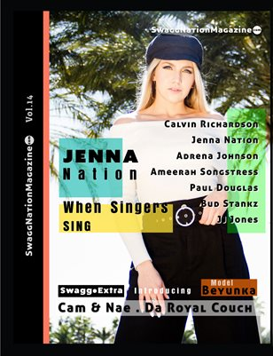 SwaggNationMagazine.com Vol.14 Jenna Nation Variant Cover