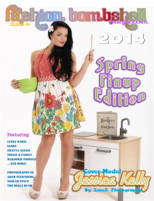 Fashion Bombshell Issue 14: Spring Pinup Edition