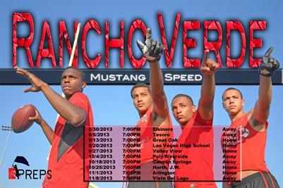 Rancho Verde Schedule