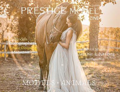 PRESTIGE MODELS MAGAZINE_ MODELS +ANIMALS 8/09