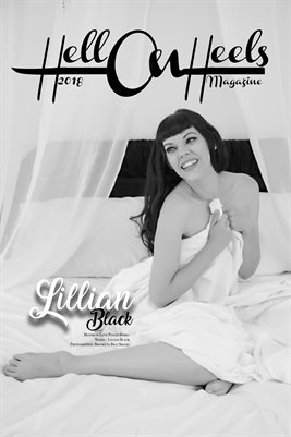 2018 Hell on Heels Magazine Month of Love poster series Lillian Black
