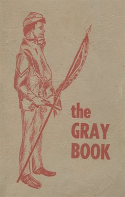 "AUGUST 1964 ""THE GRAY BOOK"", SOUTH MARSHALL HIGH SCHOOL STUDENT DIRECTORY, MARSHALL COUNTY, KENTUCKY"