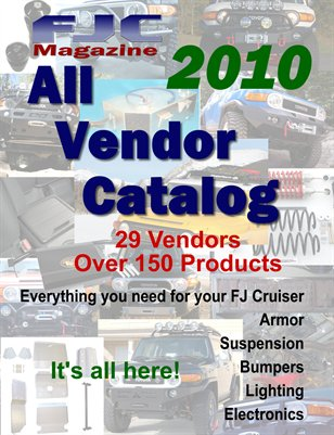 2010 All Vendor Catalog
