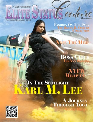 Elite Status Couture Magazine Nov/Dec 2018