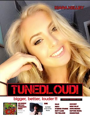 TunedLoud Magazine August 2020