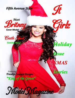 Fifth Avenue Style IT GIRLZ Model Magazine Holiday Issue