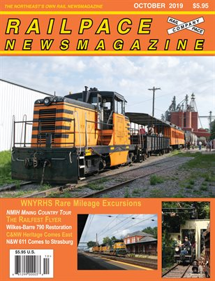 OCTOBER 2019 Railpace Newsmagazine