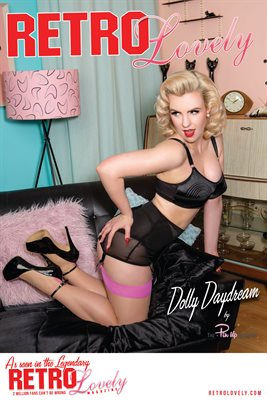 Retro Lovely No.63 – Dolly Daydream Cover Poster