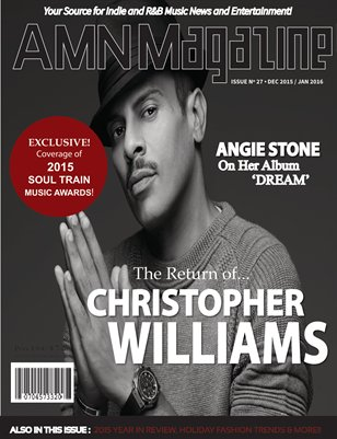 AMN MAGAZINE, Vol. 2, Issue #27/Christopher Williams