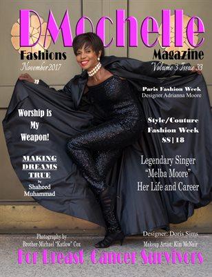 DMochelle Fashions Magazine November 2017 Issue