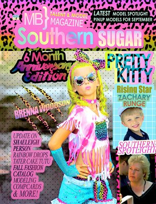 MB} Southern Sugar Talent & Model Magazine [September]