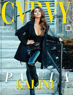 CVRVY GLAM Magazine - PAULA KALINI - April/2021 - PLPG GLOBAL MEDIA
