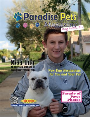 Paradise Pets Magazine, Key West, FL Vol.3 Issue 1
