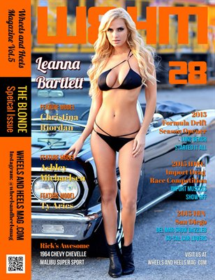 Wheels and Heels Magazine Issue 28 - Leanna Bartlett
