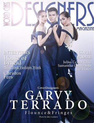 World Class Designers Magazine with Garvy Terrado