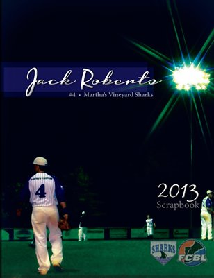 Jack Roberts - 2013 MV Sharks Scrapbook