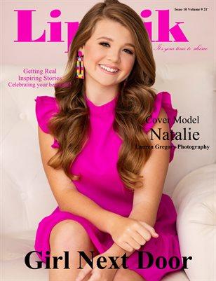 Lipstik Magazine Issue 10 Volume 9 21' Girl Next Door Edition