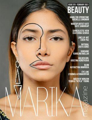 MARIKA MAGAZINE BEAUTY ( ISSUE 570 - February )