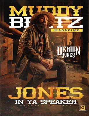 Muddy Beatz Magazine Issue #21 Demun Jones