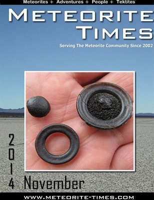 Meteorite Times Magazine - November 2014 Issue