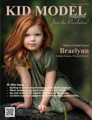 Kid Model magazine Issue 9 Volume 6 2018
