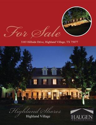 Haugen Properties - 3103 Hillside Drive, Highland Village, TX 75077