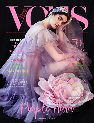 VOUS Magazine | The September Teen Edition | Vol.4 | 2021