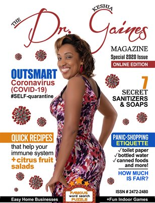 The Dr. Keshia Gaines Magazine- 7 Best Covers Issue