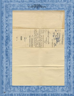 No. 453 Deed, 1936, J.H. Owen to Fred & Josephine Owen, Graves County, Kentucky