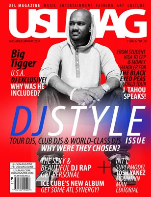 USL Magazine Jan-Feb Big Tigger DJ Style Trilogy Issue