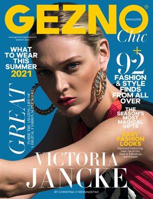 GEZNO Magazine March 2021 Issue #08