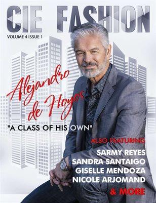 CIE Fashion Magazine Featuring Alejandro De Hoyos