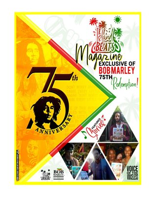 Island Beats Magazine Exclusive Bob Marley 75th Celebration 2020