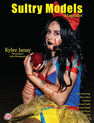 Sultry Models Magazine Halloween Issue 1 Vol 5