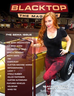 Blacktop Magazine SPE 04 The SEMA Issue