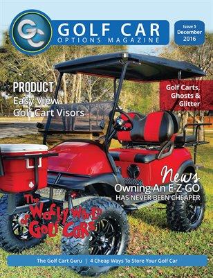 Golf Car Options Magazine - December 2016