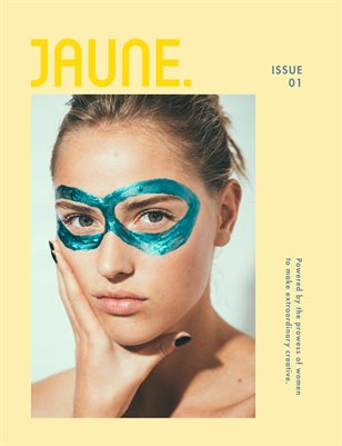 Jaune Magazine Issue 01 \ Cover 5
