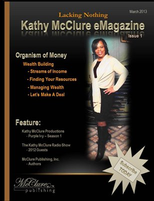 Kathy McClure eMagazine - Lacking Nothing