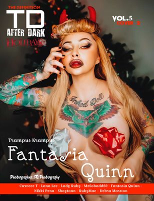 TDMAfter Dark Fantasia Quinn Xmas vol5 cover 2