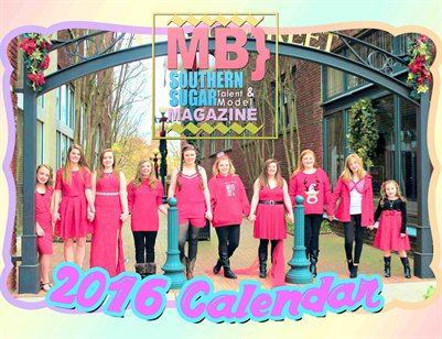 MB} Southern Sugar Talent & Model Magazine [BIG GIRLS AND BOYS CALENDAR]