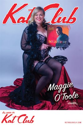 Kat Club No.26 – Maggie O'Toole Cover Poster