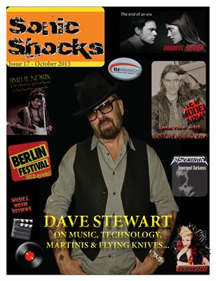 SONIC SHOCKS Issue 17 - October 2013