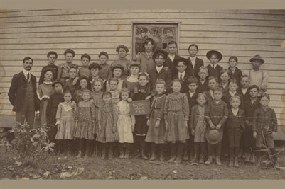 1916 New Hope School, McCracken County, Kentucky