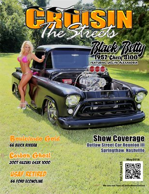 Cruisin' the Streets May 2016 Issue