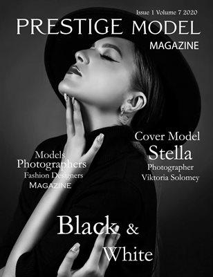 Prestige Models Magazine: Black & White Edition