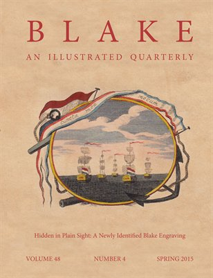 Blake/An Illustrated Quarterly vol. 48, no. 4 (spring 2015)