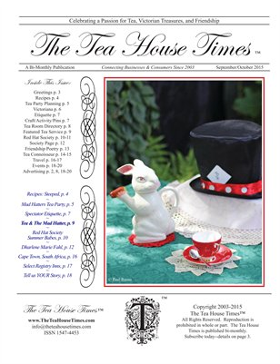 The Tea House Times Sept/Oct 2015 Issue
