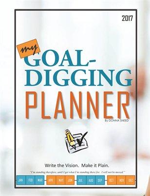 Goal-Digging Planner 2017