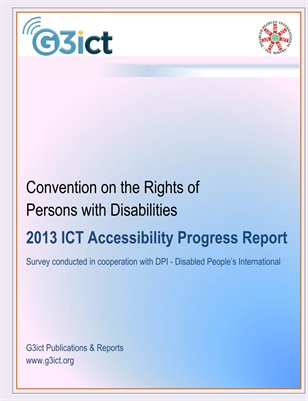 2013 CRPD ICT Accessibility Progress Report