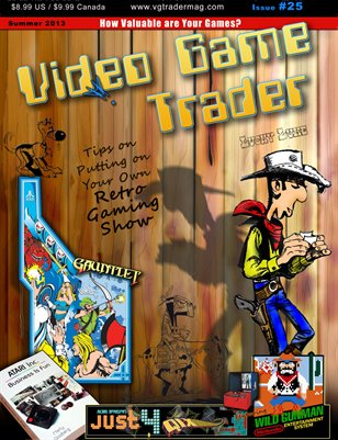 Video Game Trader #25 (Summer 2013) w/Price Guide